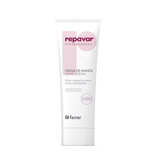 Repavar Regeneradora - Crema de Manos con Vitamina E y Glicerina, Nutrición y Reparación de Piel Seca y Estropeada - 75 ml