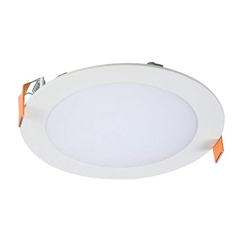 Halo HLB6099301EMWR HLB6 3000K Color Temperature New Construction or Remodel Canless Recessed Integrated LED Kit, 6 in, White