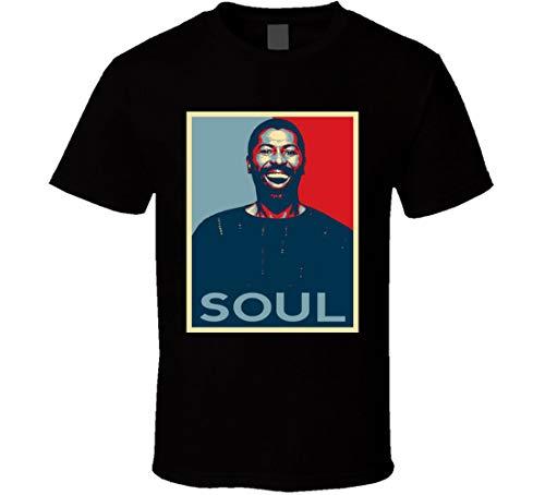Teddy Pendergrass Hope Obama Style - Camiseta de manga corta, color negro Negro Negro ( M