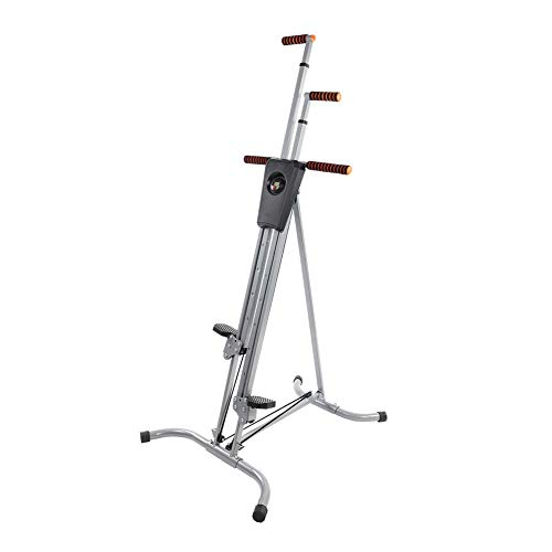 lahomie Climber Step Machine,Fitness Stepper Climbing Machine Stahlrahmen Heavy Duty Vertical Climber Fitness Klettern Cardio-Maschine Home Stepper