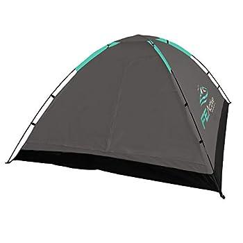 FE Active - Tente 3-4 personnes à montage rapide et facile avec moustiquaire et double toit pour le plein air, résistant à l'eau, camping, backpacking, randonnée, trekking | Conçue en Californie, USA