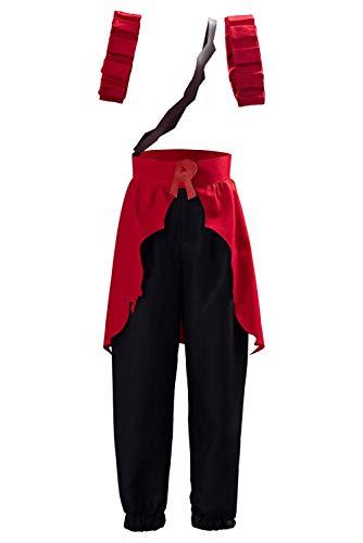 My Hero Academia Kirishima Eijiro Cosplay Costume Outfit Boku no Hero Season 4 Battle Suit (XS, Red)