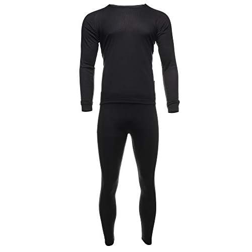 EONO Functional underwear set for men, ski underwear, thermal active, base layer, top + trousers (men,...