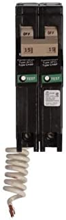 Eaton CH220CAF Plug-On Mount Type CH Combination Branch Feeder Arc Fault Circuit Breaker 2-Pole 20 Amp 120/240 Volt AC