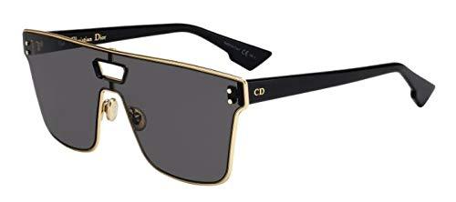 Dior Cristianos Diorizon1 gafas de sol w / 99mm lente gris J5G2K Diorizon1S Diorizon1 / S Diorizon 1S Diorizon 1 / S Diorizon 1 mujer Oro Grande