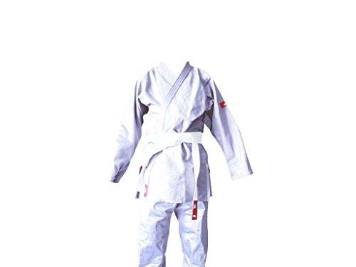YOSIHIRO Judo - Kimono Unisex, Color Blanco, Talla 110 cm