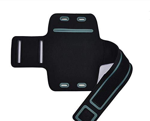 CoverKingz Sportarmband für Samsung Galaxy A20e - Armtasche mit Schlüsselfach Galaxy A20e - Sport Laufarmband Handy Armband Schwarz