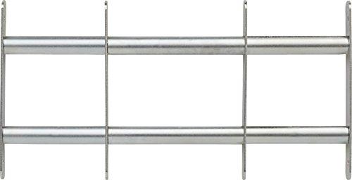 ABUS Fenstergitter FGI5300 - Gitter zur Einbruchsicherung von Keller- und Erdgeschossfenstern - 500-650 x 300 mm - 73429
