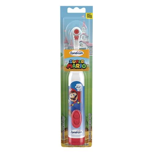 Arm & Hammer Spinbrush Super Mario (Super Mario, Peach) Battery Toothbrush