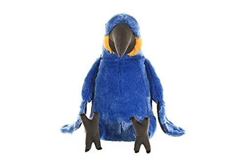 Wild Republic 10904 Plüsch Blau-Ara Papagei, Cuddlekins Kuscheltier, Plüschtier, 30cm