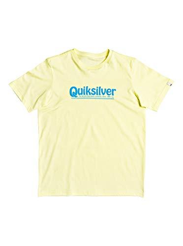 Quiksilver New Slang-Camiseta para Chicos 8-16 Screen tee, Niños, Charlock, S/10