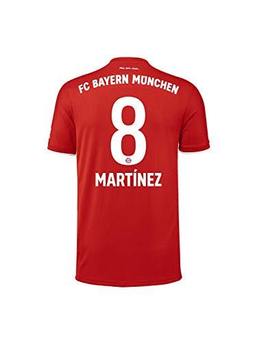 FC Bayern München Kinder Home-Trikot Saison 2020/21, Gr. 152, JaviMartínez