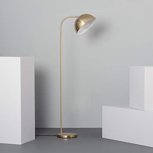 LEDKIA LIGHTING Lámpara de Pie Bowlen Dorado