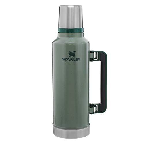 Stanley Classic Legendary Vacuum Insulated Bottle 2.0qt, Hammertone Green (10-07934-001)