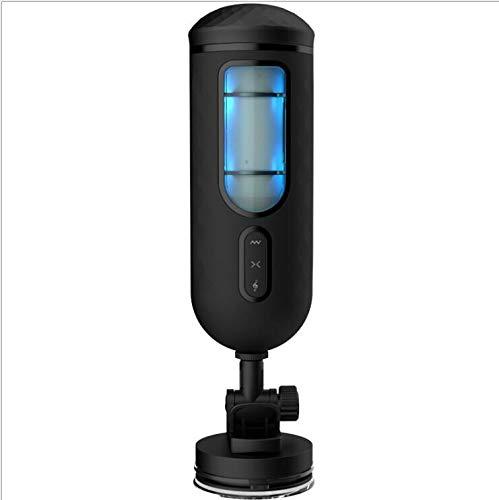 ZHAGNFL Maschio Forte Auto Succhiare Vibrazione Gioca for Gli Uomini, Adulti Enhancer Trainer, Caricatore USB