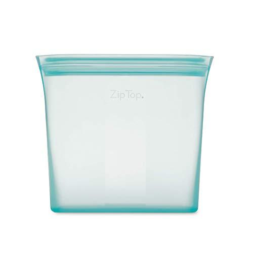 Zip Top シリコン製 保存容器 日本正規品 バッグ サンドイッチ 710ml レンジ 食洗器対応 ブルー ジップ トップ