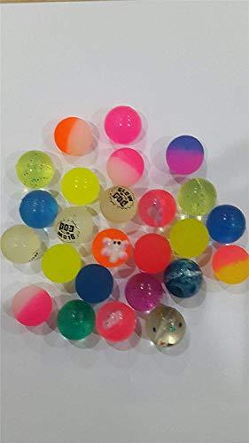 Gifts SHATCHI-414 Lot de 25 balles de jet rebondissantes pour enfants Motif 4 toutes les occasions