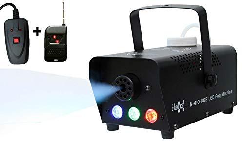 E-Lektron N-410-RGB kompakte Nebelmaschine 400W mit LED Beleuchtung