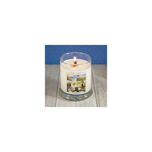 The Candle Cottage 505 Collage Candles with Wooden Wicks, 12 Oz (Field of Florals)