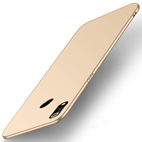 SPAK ZTE Nubia Z18 Hülle,Neuer Qualitäts Schutzhülle Harter PC rückseitiger Abdeckungs Handyhülle Fall Cover für ZTE Nubia Z18 (Golden)
