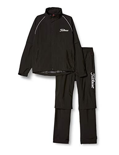 acushnet japan,inc. titleist タイトリスト titleist apparel レインウェアTSMR1592 TSMR1592 BK ブラック L