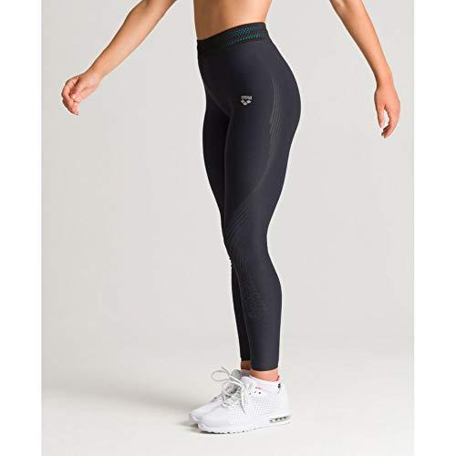ARENA Damen Sport Hose Tights A-One Leotardos, Mujer, Negro, Small