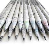 Eco lápices-caja set de 60 unidades-2B 100% papel de periódico,pencil reciclado para escribir/dibujar/diseñar para oficina/escuelas o colegios