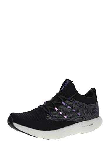 Skechers Womens GOrun 7 Black/Purple Running Shoe - 9.5