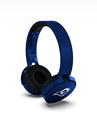 NFL Prime Brands Group Wireless Bluetooth Headphones, St. Louis Rams