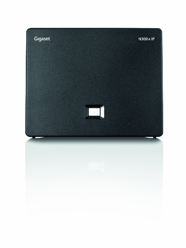 Gigaset N300A IP DECT/VoIP Base Station with Answering Machine by Gigaset