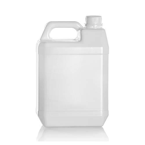 Garrafas bidon de plastico de 5 litros homologado ADR boca ancha ideal para agua gasolina y químicos también como deposito para aire acondicionado / camping / furgoneta camper (1)