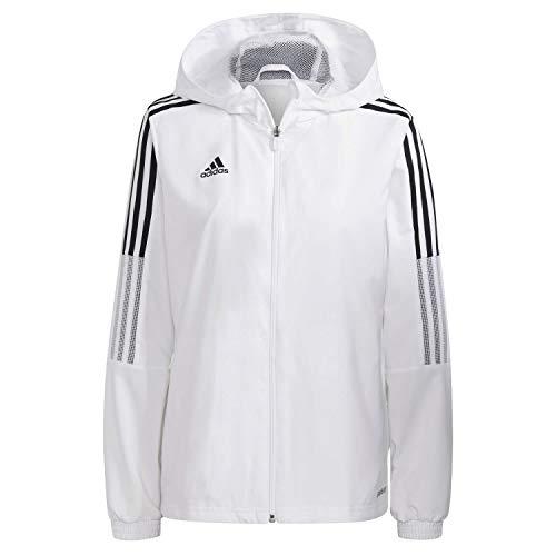 adidas Tiro21 Wb W Giacca da donna, Donna, giacca, GP4970, bianco, XXS