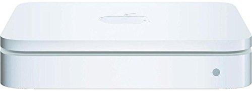 Apple AirPort Extreme MC340Z/A Sim Dualband Router - Simultaner 2,4 & 5 GHz bis zu 450 MBit/s Zugang 802.11n Wi-Fi - W-LAN mit 4 Anschlüssen