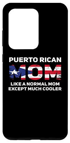 Galaxy S20 Ultra Puerto Rican Mom Puerto Rico Roots Pride Puerto Rican Flag Case