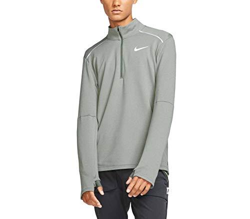 Nike Herren M NK ELMNT TOP HZ 3.0 Long Sleeved T-Shirt, Juniper Fog/Htr/Reflective silv, XL