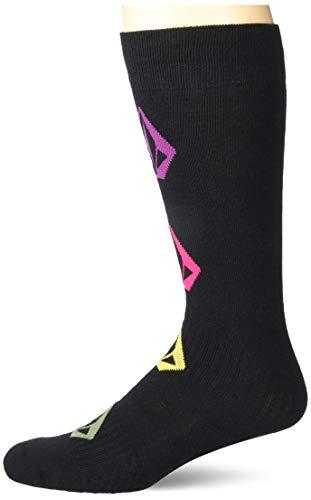 Volcom Junior's Sherwood Medium Weight Snow Sock, BLACK, XS/S