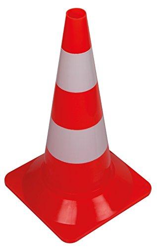 Perel1190-50Cône de sécurité-Rouge/blanc