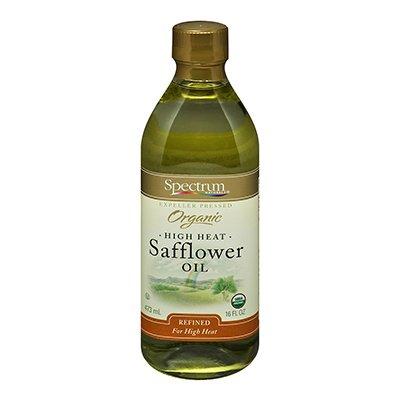 Spectrum Naturals Refined Safflower Oil Max 61% OFF 16 - Oz Cheap bargain Pack 3 of