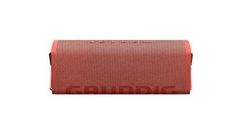 Grundig GBT Club Coral - Bluetooth Lautsprecher, 20 Meter Reichweite, mehr als 20 Std. Spielzeit