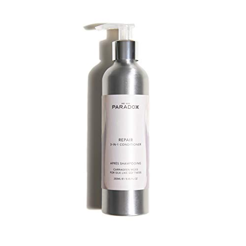 We Are Paradoxx Repair 3-in-1 Conditioner 250ml, Leave In Conditioner With Coconut Oil For Smooth Soft Hair and Matcha Green Tea For Strength, Natural, Plastic Free, Vegan, Sulphate Free, Cruelty Free