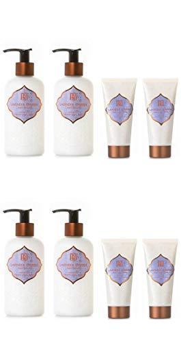 AKALIKO Lavender Cherish Body Lotion and Lavender Cherish Hand Cream - Set C.