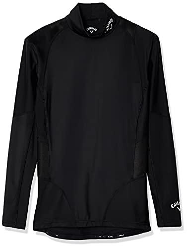 [キャロウェイ] [メンズ] 速乾 長袖 ハイネックシャツ (トレーニングウェアシリーズ) / 241-9932500 / インナー ゴルフ 010_ブラック 日本 M (日本サイズM相当)