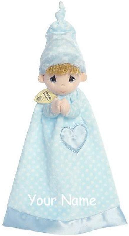 Personalized Prayer Boy Luvster Plush Snuggle Boy Blanket Gift