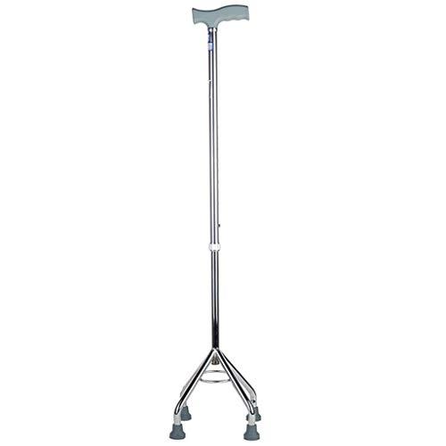 Kruk met vier poten Ouderen Walking Assistance, aluminiumlegering, in hoogte verstelbaar 75cm-95cm A