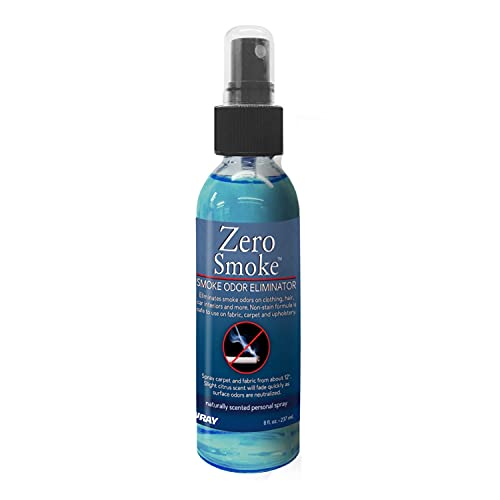 Jenray Zero Smoke Odor Eliminator Spray, 8 oz - Eliminates cigars, cigarettes, smoke odors as well as mold, food smells and musty rooms.