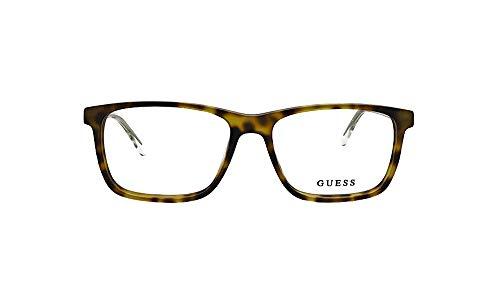 Guess Gafas anteojos GU1971 052 habana marco de plástico del tamaño de 54 mm de gafas de sol hombre