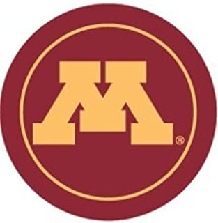 3 inch UMn University of Minnesota Golden Gophers Logo Removable Wall Decal Sticker Art NCAA Home Room Decor 2 3/4 inches Round