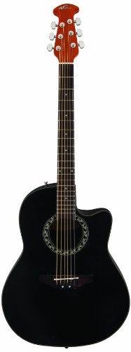 Ovation AB24A-5 Balladeer Mid Cutaway Black