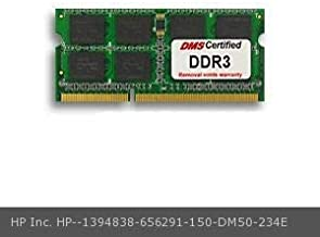DMS Compatible/Replacement for HP Inc. 656291-150 Pavilion TouchSmart 23-f213w 8GB eRAM Memory 204 Pin DDR3-1600 PC3-12800 1024x64 CL11 1.5V SODIMM - DMS