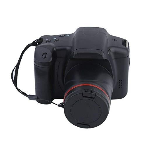Cámara SLR de 16 Millones de píxeles Inicio Cámara réflex Digital Cámara de película SLR Cámara de Alta resolución HD 1080P Zoom 16X - Negro